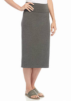 Eileen Fisher Foldover Knit Skirt
