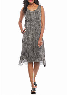 Eileen Fisher Print Slip Dress
