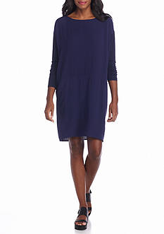 Eileen Fisher Woven Pullon Dress