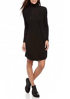 Eileen Fisher Turtleneck Long Sleeve Dress