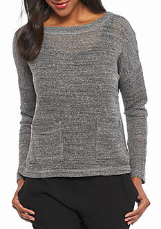 Eileen Fisher Waffle Knit Boxy Top