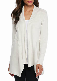 Eileen Fisher Shaped Ribbed Cardigan