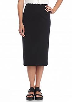 Eileen Fisher Ponte Knit Pencil Skirt