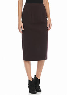 Eileen Fisher Ponte Knit Pencil Skirt