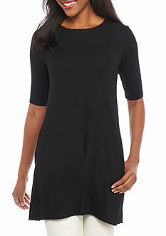 Eileen Fisher Long Knit Tunic Top