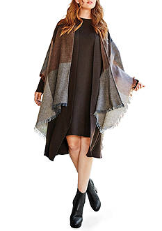 Eileen Fisher Serape With Fringe