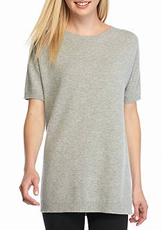 Eileen Fisher Short Sleeve Pullover Sweater