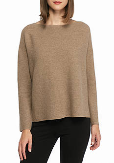 Eileen Fisher Boxy Style Cashmere Sweater