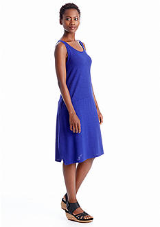 Eileen Fisher Organic Cotton and Hemp Knee Length Dress