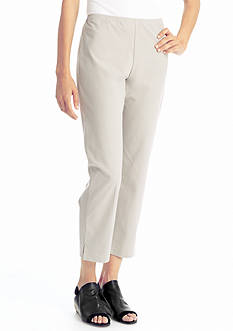 Eileen Fisher Straight Slim Ankle Pant
