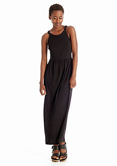 Eileen Fisher Lightweight Jersey Racerback Maxi Dress