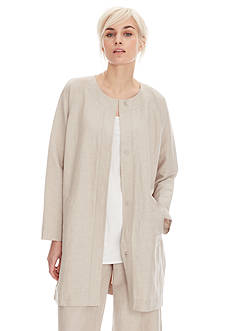 Eileen Fisher Soft Natural Topper
