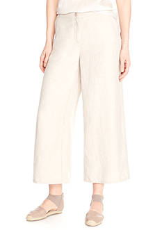 Eileen Fisher Cropped Wide Leg Pants
