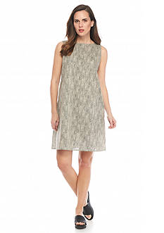 Eileen Fisher Tiny Print Woven Dress