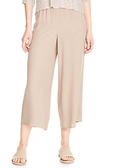 Eileen Fisher Soft Wide Leg Pants
