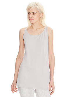 Eileen Fisher Scoop Neck Long Tank Top