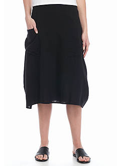Eileen Fisher Lantern Knit Skirt