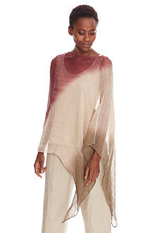 Eileen Fisher Ombre Poncho