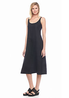 Eileen Fisher Scoop Neck Midi Tank Dress