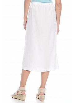 Eileen Fisher Faux Wrap Skirt