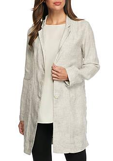 Eileen Fisher Notch Collar Soft Jacket