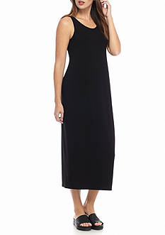 Eileen Fisher Scoop Neck Long Dress