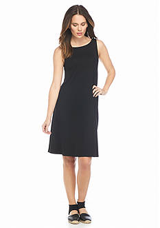 Eileen Fisher Stretch Knit Sleeveless Dress