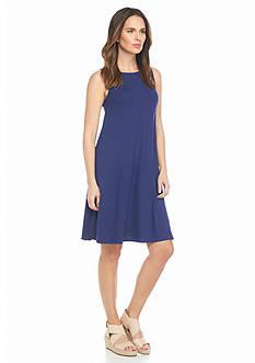 Eileen Fisher Stretch Knit Sleeveless Dress