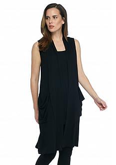 Eileen Fisher Long Soft Knit Vest