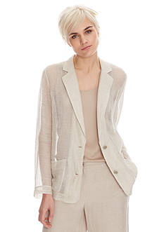 Eileen Fisher Notch Collar Soft Jacket