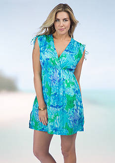 Lauren Ralph Lauren Oceania Farrah Dress Cover Up