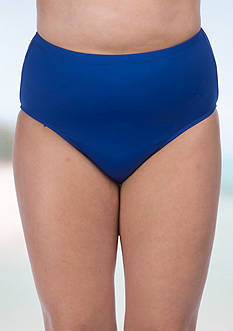 Lauren Ralph Lauren Plus Size Beach Club Solids High Waist Bottom