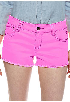 Grane Ivana Five Pocket Fray Hem Short