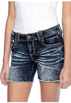 Grane Jean Flap Back Pocket Short