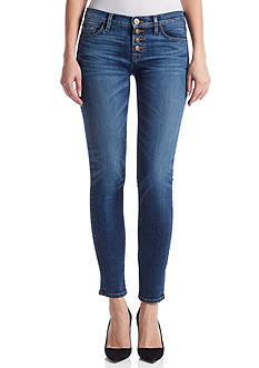 Hudson Jeans Ciara Legion Exposed Button Skinny Jean