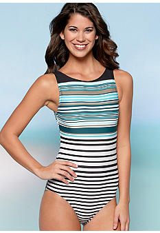 DKNY Infinity One Piece Swim Suit