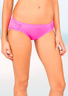 DKNY Side Tab Cinched Back Hipster
