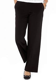 Kim Rogers Petite Pull-On Career Pant (Short & Average)