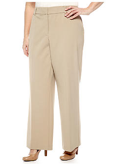 Kim Rogers Plus Size Perfect Fit Pant Medium Inseam
