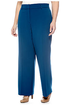 Kim Rogers® Plus Size Perfect Fit Pant Short Inseam