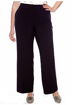 Kim Rogers Plus Size Perfect Fit Pant Short Inseam