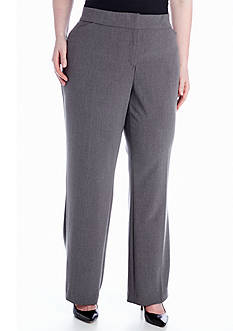 Kim Rogers Plus Size Curvy Bistretch Pant (Short & Average Inseams)