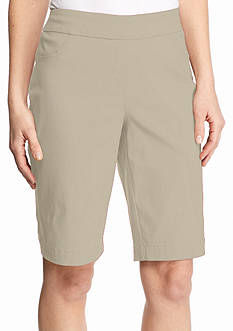 Kim Rogers Super Stretch Bermuda Shorts