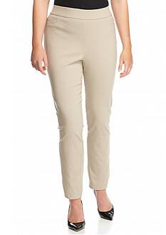 Kim Rogers Plus Size Solid Dress Pant Short