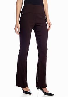 Kim Rogers® Wide Waist Pull-On Slim Boot Leg Millennium Pant