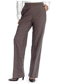 Kim Rogers Petite Menswear Pull On Pants