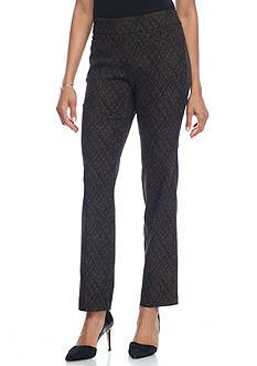 Kim Rogers Super Stretch Pull On Pant with Front Pockets