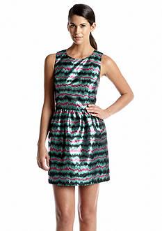 French Connection Siberian Stripe Sleeveless Dress