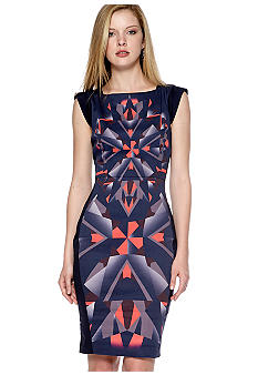 French Connection Diamond Stretch Dress