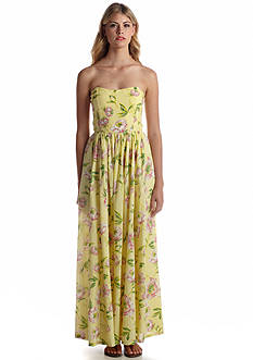 French Connection Spring Bloom Voile Maxi Dress